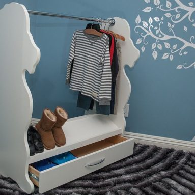 Dress-Up Clothes and Shoe Organizer