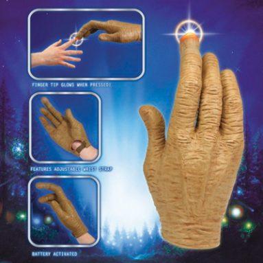 E.T. HAND WITH LED FINGER