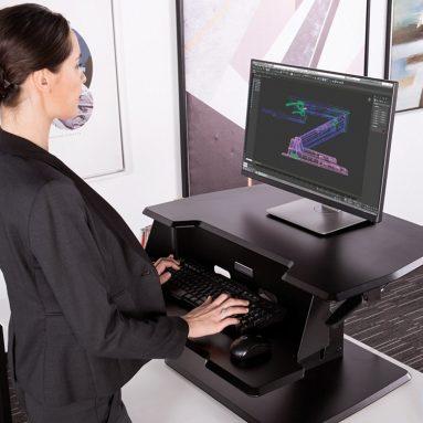 Height Adjustable Standing Desk Sit-Stand Desk Top