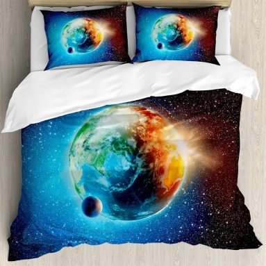 Earth Duvet Cover Set