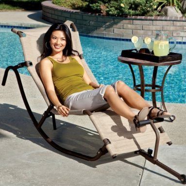Easy Outdoor Zero Gravity Lounge Rocker