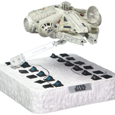 Egg Attack Floating Millennium Falcon Action Figure