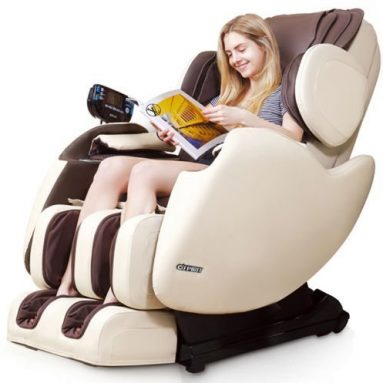 Electric Full Body Shiatsu Massage Chair Recliner Straight