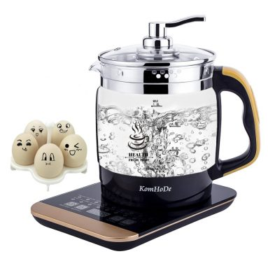 Electric Water Kettle Multifunctional Cordless Glass Liquid Heater
