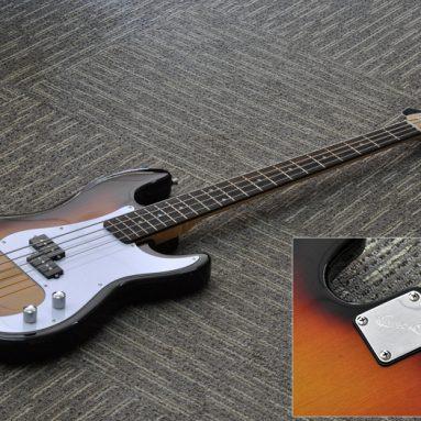 """Electric Bass Guitar """"Gecko"""""""