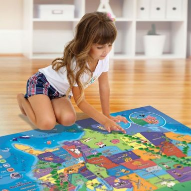 Electronic Map of the United States for Kids