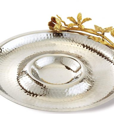 Butterfly Chip & Dip serving Tray