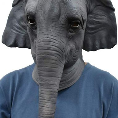 Elephant Mask Latex