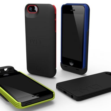 Energi Sliding Power Case for iPhone 5/5S/5C