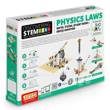 Engino ENG-STEM902 Physics Laws-Inertia, Friction