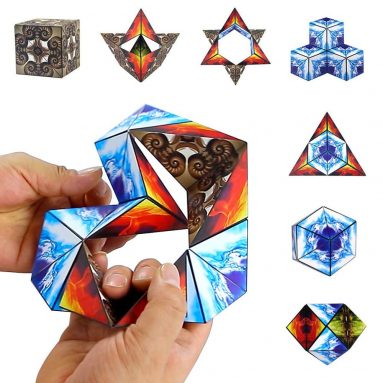Euclidean Cube Magnetic Cube Geometric Cubes Building Blocks Cube Magnetic Infinity Stacking Cubes