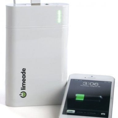External Battery Pack 18000mAh USB Charger with built-in Flashlight