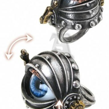 Eye Alchemy Gothic Steampunk Ring