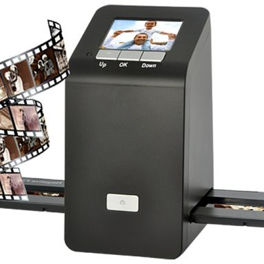 Film Slide Scanner – 9MP, 3 Inch LCD, TV Out