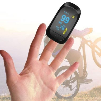 Fingertip Pulse Oximeter Portable Digital Blood Oxygen