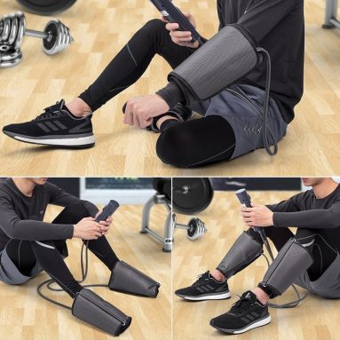 FiveJoy Portable Electric Air Compression Leg Massager