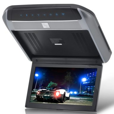 Flip Down Car Roof Monitor with DVD Player