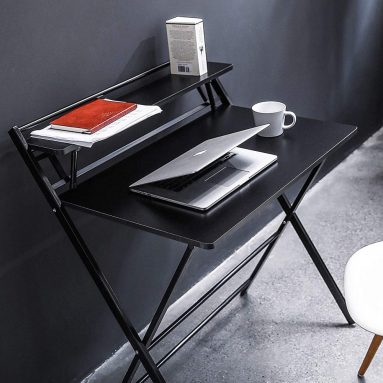 Folding Desk Small Space Home Office Workstation
