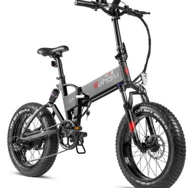 Folding Fat Tire 48V 10.4Ah Electric Bicycle