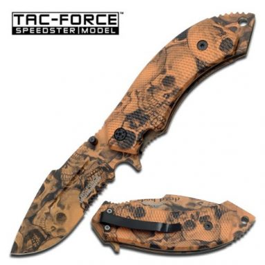 Force  Assisted Opening Folding Knife