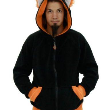Fox Wolf Eared Hoodie Jacket