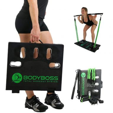 Full Portable Gym Home Workout Package + 1 Set Of Resistance Bands