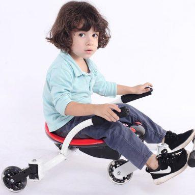 Fun Wheel Toys Music Ride On Swing Cars With Flash Wheels