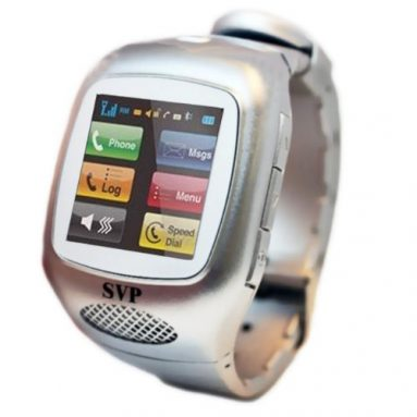 G13 (with Micro 4GB) Silver Camera GSM Quad-band Watch Phone