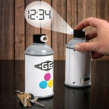 GAMAGO Spraycan Projection Clock