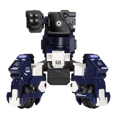 GEIO App-Enabled Augmented Reality Gaming Robot with High Speed Motion System