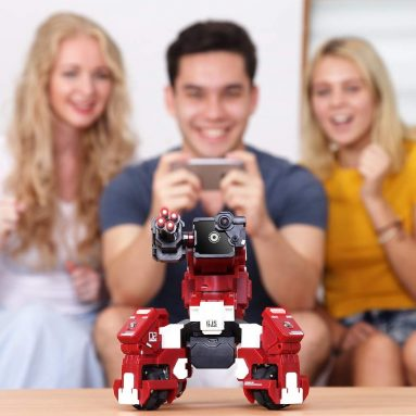 GJS Robot – GEIO App-Enabled Augmented Reality Gaming Robot with High Speed Motion System