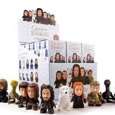 Game of Thrones Trading Figure The Seven Kingdoms Collection Titans Display