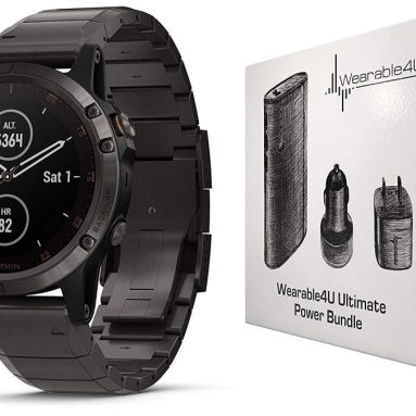 Garmin Fenix 5 Plus Premium Multisport GPS Watch with Maps