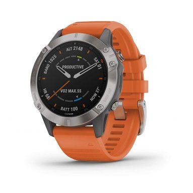 Garmin Fenix 6 Sapphire, Premium Multisport GPS Watch