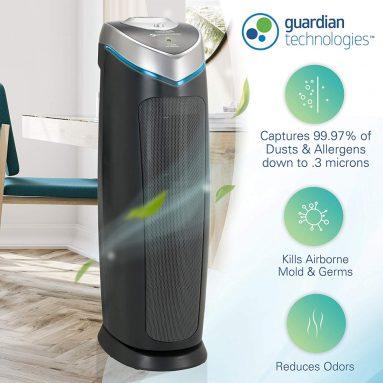 60% discount: Germ Guardian True HEPA Filter Air Purifier