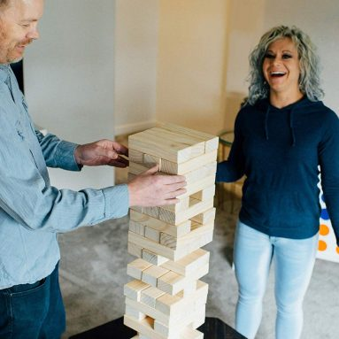 Giant Leaning Lumbers Perfect Indoor/Outdoor Group Play Classic Tower Game