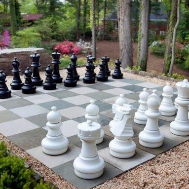 Giant Premium Chess Pieces Complete Set