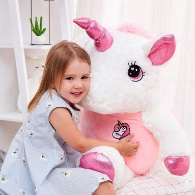 Giant Stuffed Unicorn Plush Toy