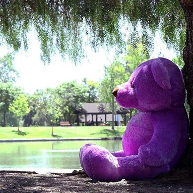 Purple Giant Teddy Bear