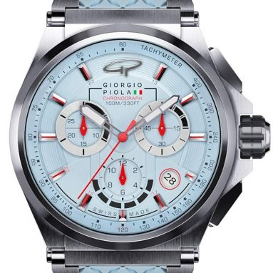 Giorgio Piola Ladies Strat-3 Blue Chronograph Watch