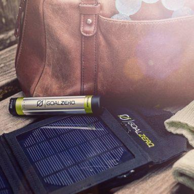 Switch 8 Silver/Black Solar Recharging Kit