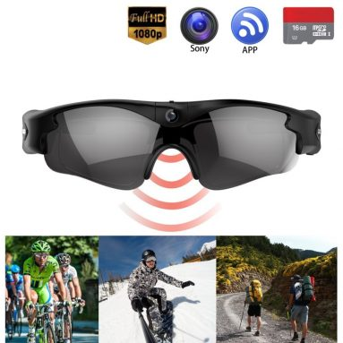 Gogloo Camera Glasses Hands Free Action Camera Full HD