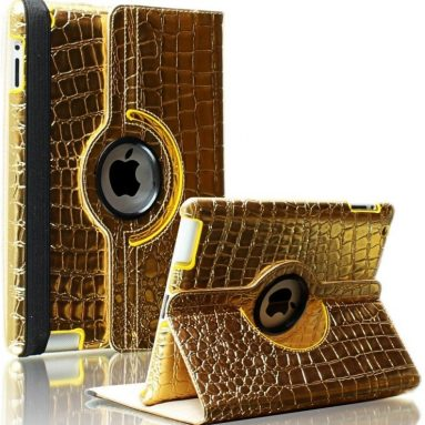 Gold Case with Stand for Apple iPad 4,3, 2 with Retina Display