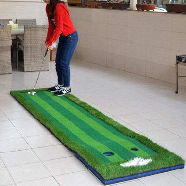 Golf Putting Mat Artificial Green Indoor