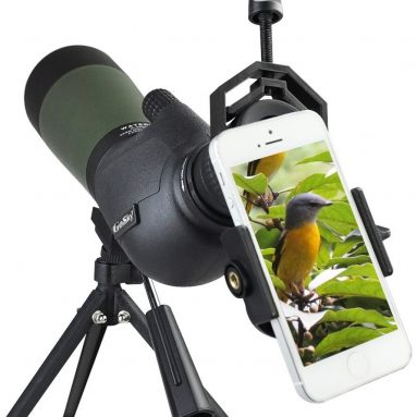 Gosky Porro Prism Spotting Scope- Waterproof Scope for Bird watching Target Shooting