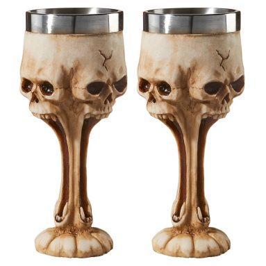 Gothic Scare Skull Goblet