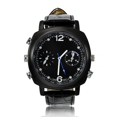 Undetectable HD Spy Watch