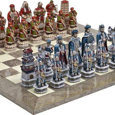 Great Wall of China Luxury Chessmen
