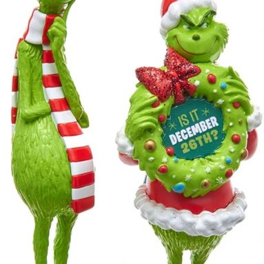 Grinch Blow Mold Ornament