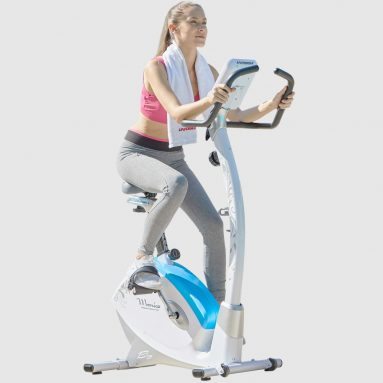 HARISON Stationary Upright Exercise Bike with Magnetic Resistance